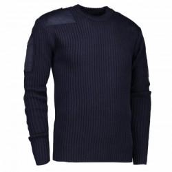Пуловер в армійському стилі